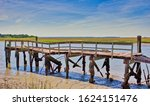 An Old Pier Falling Apart On...