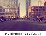 chicago bridge   vintage... | Shutterstock . vector #162416774