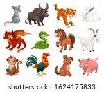 Chinese Lunar New Year Animals  ...