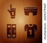 Set American Football Jersey ...