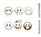 vector collection of halloween...