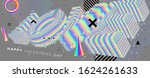 14 february valentines day...   Shutterstock .eps vector #1624261633