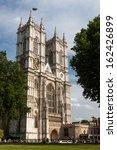 Westminster Abbey In London  Uk.