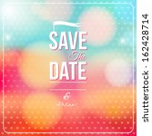 save the date for personal... | Shutterstock . vector #162428714