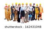 construction workers group.... | Shutterstock . vector #162431048