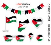jordan symbols attributes.... | Shutterstock .eps vector #1624320610