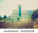 st antimo abbey  abbazia di... | Shutterstock . vector #162434228