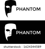 Mask Phantom Logo Design Vector ...