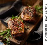 Roasted Duck Breast With The...