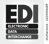 edi   electronic data...   Shutterstock .eps vector #1624406689