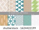 simple geometric texture.... | Shutterstock .eps vector #1624422199