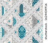 seamless pattern with... | Shutterstock .eps vector #1624434916