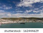 bodrum town in turkey | Shutterstock . vector #162444629