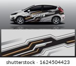 city car wrapping decal design | Shutterstock .eps vector #1624504423