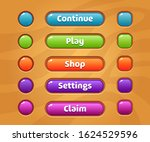 game ui set of buttons. gui to...