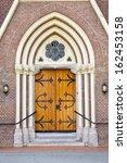 Decorative Wooden Entrance Doo...