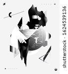 art poster. abstract... | Shutterstock .eps vector #1624539136