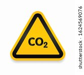 co2 attention  danger  caution  ...   Shutterstock .eps vector #1624569076