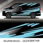 car wrap decal design vector ...   Shutterstock .eps vector #1624589749