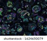 seamless floral pattern....   Shutterstock .eps vector #1624650079