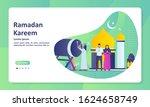 happy ramadan kareem islamic...