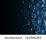 vector blue background  from... | Shutterstock .eps vector #162466283