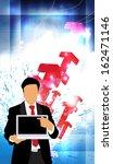 business illustration  | Shutterstock . vector #162471146