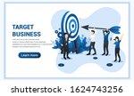 target business web banner...   Shutterstock .eps vector #1624743256
