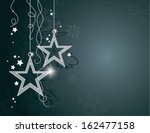 christmas background. vector... | Shutterstock .eps vector #162477158