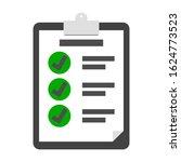 checklist paper with check mark ...
