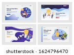corporate work set.... | Shutterstock .eps vector #1624796470