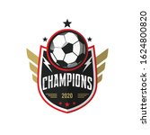 soccer football badge logo... | Shutterstock .eps vector #1624800820