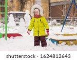 Little Child On A Winter Walk...