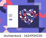 bright background for valentine'...   Shutterstock .eps vector #1624934230