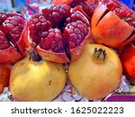 Pomegranate Is A Fruit Has A...