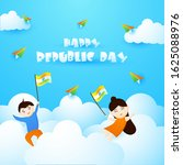 happy republic day of india... | Shutterstock .eps vector #1625088976