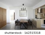 clean and elegant home interior.... | Shutterstock . vector #162515318