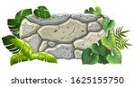stone board decoration liana...   Shutterstock .eps vector #1625155750