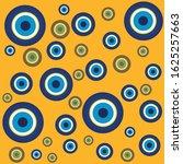 vector background of evil eye   ... | Shutterstock .eps vector #1625257663