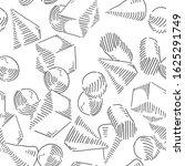 geometric figures seamless... | Shutterstock .eps vector #1625291749