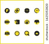 interface icons set with will...