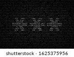 three asterisks as symbol of... | Shutterstock .eps vector #1625375956