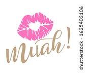 muah kiss summer clipart vector ... | Shutterstock .eps vector #1625403106