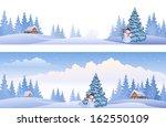 Vector Banners With Winter...