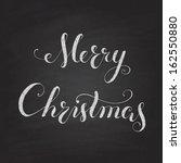 christmas chalkboard pattern....   Shutterstock .eps vector #162550880
