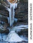 Frozen Waterfall In St. Louis...