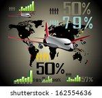 infographic travel elements.... | Shutterstock .eps vector #162554636