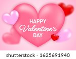 valentines day party flyer.... | Shutterstock .eps vector #1625691940