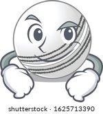 cool cricket ball mascot... | Shutterstock .eps vector #1625713390