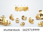 easter holiday white background ... | Shutterstock .eps vector #1625719999